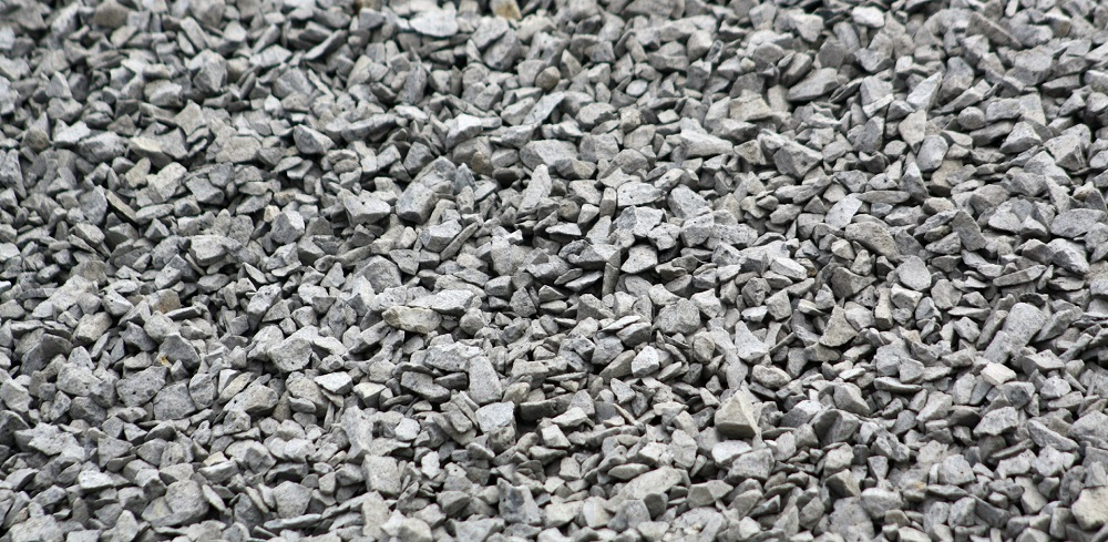 Crushed Rock Sizes : Crushed gravel yard n garden land